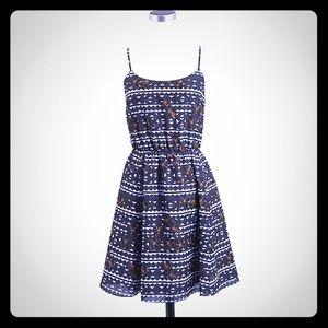 J Crew print dress